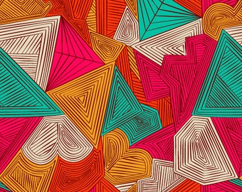 Modern Geometry Removable Wallpaper - 8 Feet