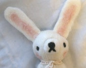 Needle Felted Giant Kawaii Rabbit