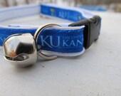 University of Kansas Cat  or Small Dog Collar