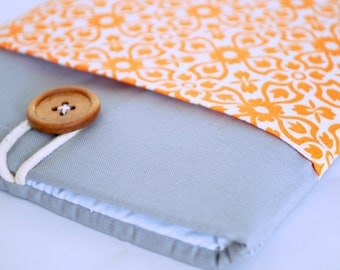 Kindle Case, Kindle Paperwhite Sleeve, Kindle Voyage Cover, Kindle Touchscreen, Basic Kindle Sleeve - Tangerine