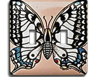 Gift: Hand Painted Switch Plate #152 - Butterfly