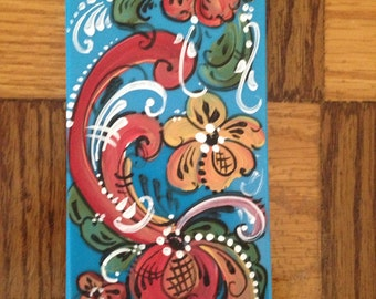Norwegian Rosemaled iPhone 5s or 5c 6 or 6plus case