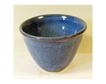 Porcelain Small Decorative Denim Blue Bowl