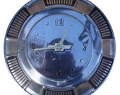Camaro Hubcap Clock, 68 - 72 Chevy  Camaro , Impala, Belair, and Biscayne with numbering (a120711 hub cap)