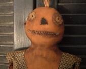 PriMitiVe HaLLoWeeN PuMpkiN Doll