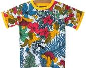Vintage T-Shirt / Handmade / Shirt / Top / Tee / Bodysuit - Pretty Prancer T-Shirt
