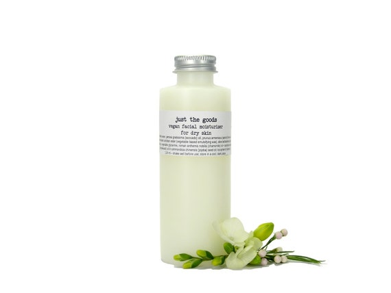 Vegan Dry Skin Moisturizer (Facial) - 4 oz / 118 mL