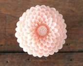 Flower Drawer knobs Mum in Light Pink, more COLORS available (RFK12) LARGE