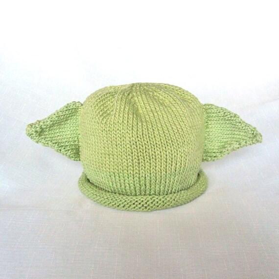 Baby Yoda Hat Knitting Pattern : Baby Yoda Hat Pattern, knit, Boston Beanies from BostonBeanies on Etsy Studio