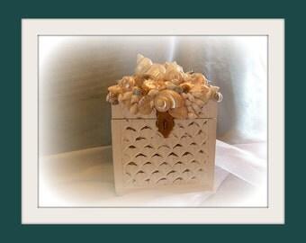 Sunset Beach Seashell Box