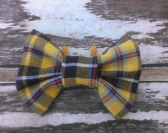 Seymour slide-on-collar doggie/kitty bowtie
