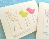 Welcome Baby Card - Congratulations on Baby Card - Baby Shower Card - Welcome Twins Card - MBTC