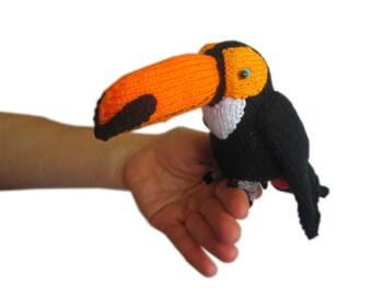 Pukas the TOUCAN Pdf Email Knit PATTERN