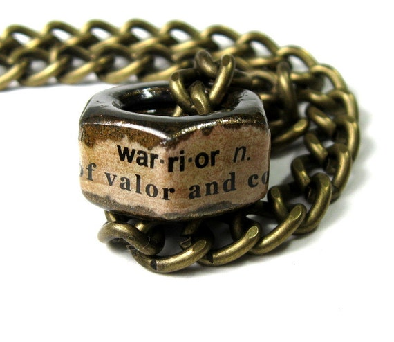 Punk Rock Steampunk Metal Industrial Chic Hex Nut Necklace, For Him Dudes Dad Hubby Gifts Warrior