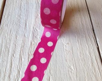 Magenta Polka Dot Washi Tape