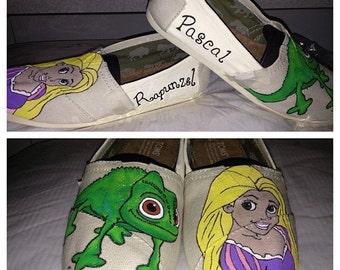 Ella's Rapunzel TOMS