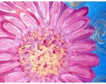 pink posey (print)