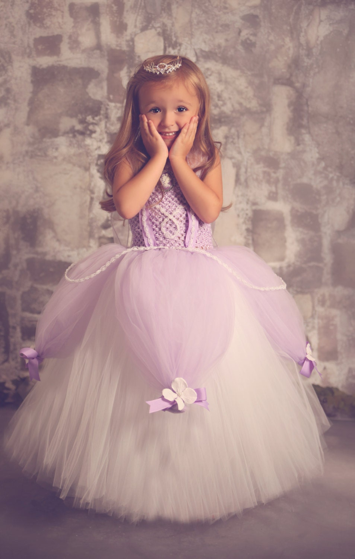 Платье принцессы девочке своими руками