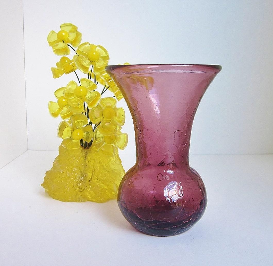 Vase glass vintage blenko glass vase bohemian green gold high vintage blenko glass vase reviewsmspy