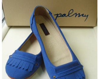 Dolly navy, suede ballet flat shoes come with arch suppert , very soft and comfortable