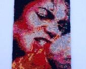 Michael Jackson Beadwoven Peyote Stitch Cuff