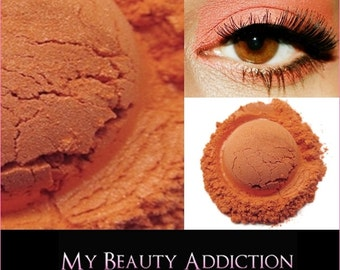 Clearance-Orange-Coral  Mineral Eyeshadow 'Emberglow'
