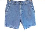 Vintage Men's Tommy Bahama Indigo Palms Shorts size 33