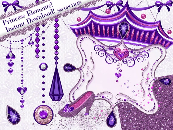 Purple Princess Crown Clipart Princess Clipart Purple