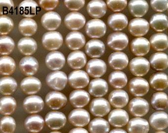 Freshwater Pearls, Pink & Peach Round, Rice Beads  4185.4186.5200*