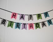Animal Themed Happy Birthday Banner for Taylor