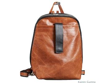 BiG  Leather Backpack-Knapsack-Laptop-Travel Bag-Karen Gunna's Taylor Backpack