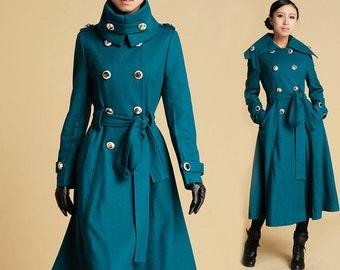 Military jacket women – Etsy