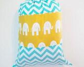 SUMMER CAMP BAG, Huge Overnight Bag, Large Laundry Bag, Beach Bag, Sleeping Bag Duffle, Children's Camp Bag, 25 x 32