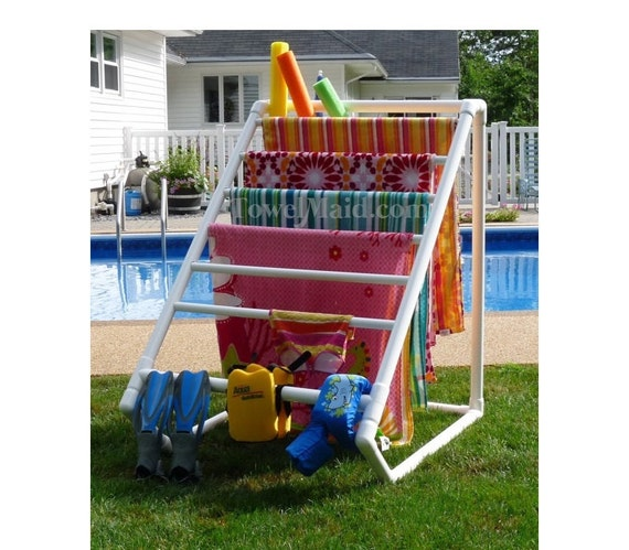 Pool Towel Rack Ideas diy outdoor standing towel rack 8 Bar Towelmaid Rack