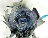 Tiamat Art Doll OOAK Goddess of the Ocean
