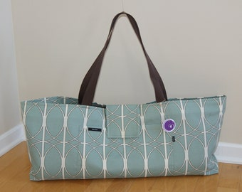 xlarge Yoga Bag with Quilted lining Made to Order.