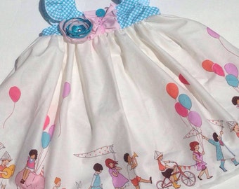 Children on Parade Flutter Party Dress Twirly Boutique Ruffles