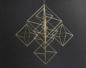 TEMPESTAS  - Large Modern Geometric Hanging Mobile - Himmeli