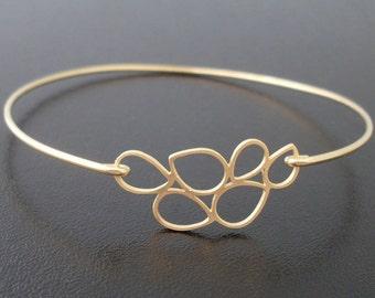 Bubble Bracelet, Lenina, Dainty Bubble Bangle, Bubble Jewelry, Bridesmaid Gold Bracelet, Bridesmaid Gold Jewelry, Cute, Delicate Gold Bangle