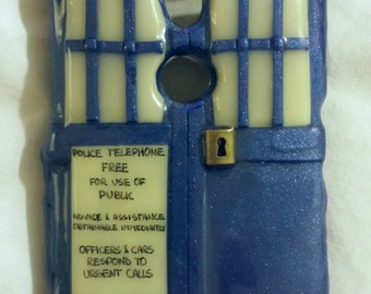 Call the Police! Motorola Moto X hard cover case (GLOWS in the dark)