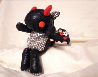 Custom Baby Scrap Dragon Cuddle Buddy OOAK Made To Order