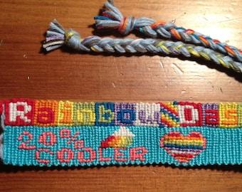 My Little Pony Rainbowdash Friendship Bracelet