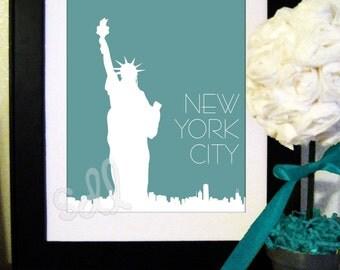 "PRINTABLE PDF Instant Download ""New York City"" Print"