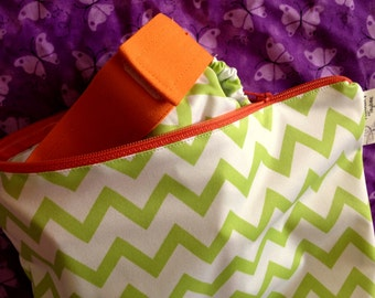 Pretty Prints Zippered Wet Bag