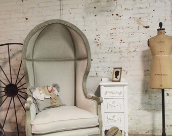 Painted Cottage Chic Shabby Farmhouse  Chair CHR67