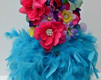 Dog Dress Paradise Feather Harness