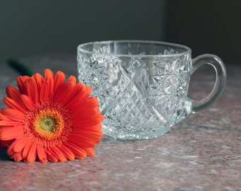 Pressed Glass Collection - 4 pieces to enhance your serving style!