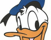 Donald Duck die cut