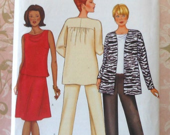 Jacket, Top, Skirt, and Pants Sewing Pattern UNCUT Butterick 6939 Sizes 8-12