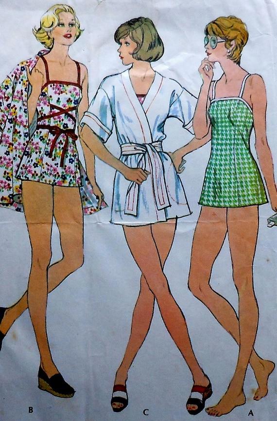 Vintage Swim Suit Pattern 67